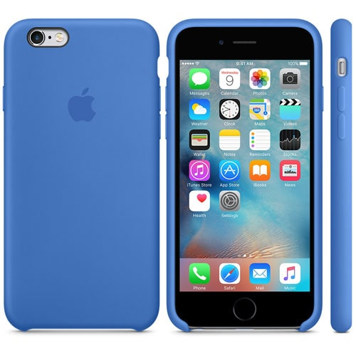 Чехол бампер Silicone Case для iPhone 6, 6s Plus