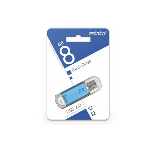 Флешка SmartBuy V-Cut Series USB 2.0 8GB фото в интернет магазине shtychki.by