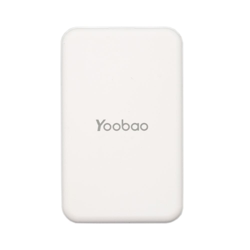 Yoobao Mini Power Bank 5000 mAh (белый)